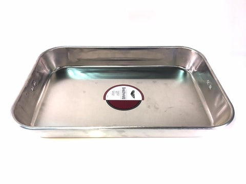 "17 3/4 x 11 3/4 x 2 1/2"" Heavy-Duty Aluminum Pan"