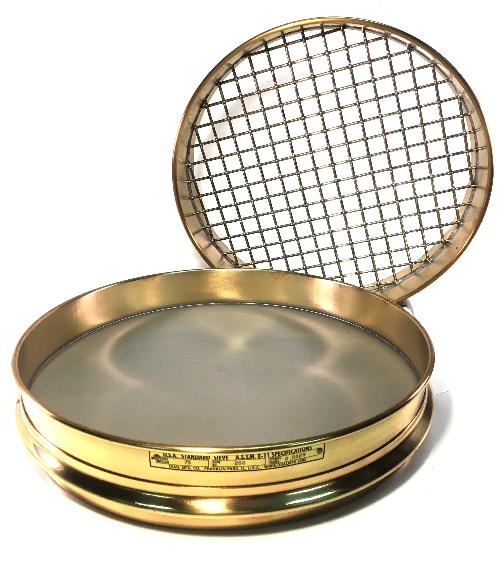 "12 Inch Sieve - 1-5/8"" (Half Height)"