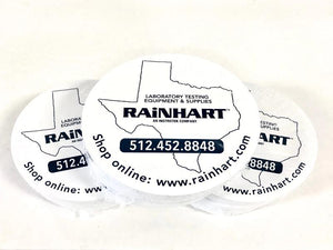 "6"" Rainhart Gyratory Specimen Paper Disc, Pack of 500 - Rainhart"