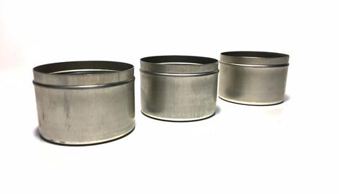 Sample Tins 3 oz. without lid (case of 500)