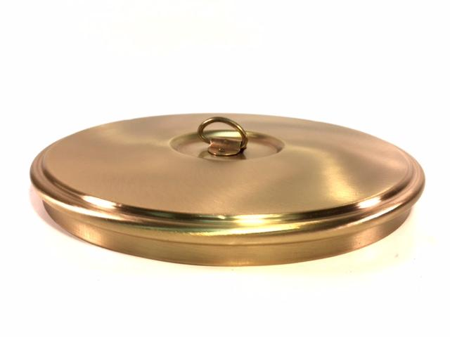 "Brass Sieve Cover Lid - Choose 8"" or 12"" - Rainhart"