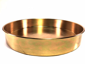 "12"" Sieve Pan, 2""Deep (Intermediate Height) - Rainhart"