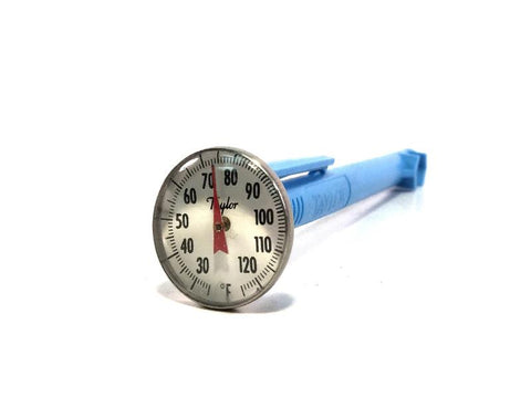 "Concrete Dial Thermometer, 25° - 125°F - Available in 5"" or 8"" Stem Lengths"