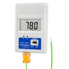 K-Type Pocket-Size °F Thermometer, Traceable