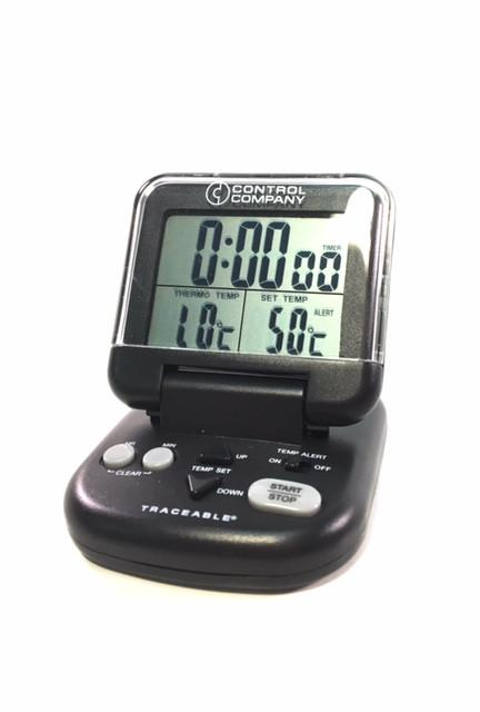33 - 392°F External Digital Timer/Thermometer with Probe - Rainhart