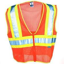 Class 2 Reflective Vest - Orange - Xlarge