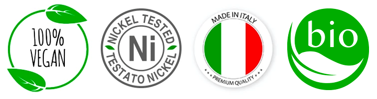 Eco Bio Boutique Nickel Tested Made in Italy Cruelty free