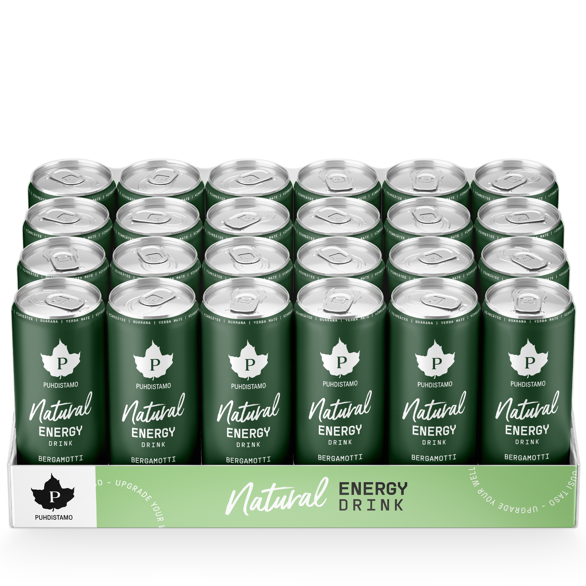 Natural Energy Drink - Bergamotti 24-pack