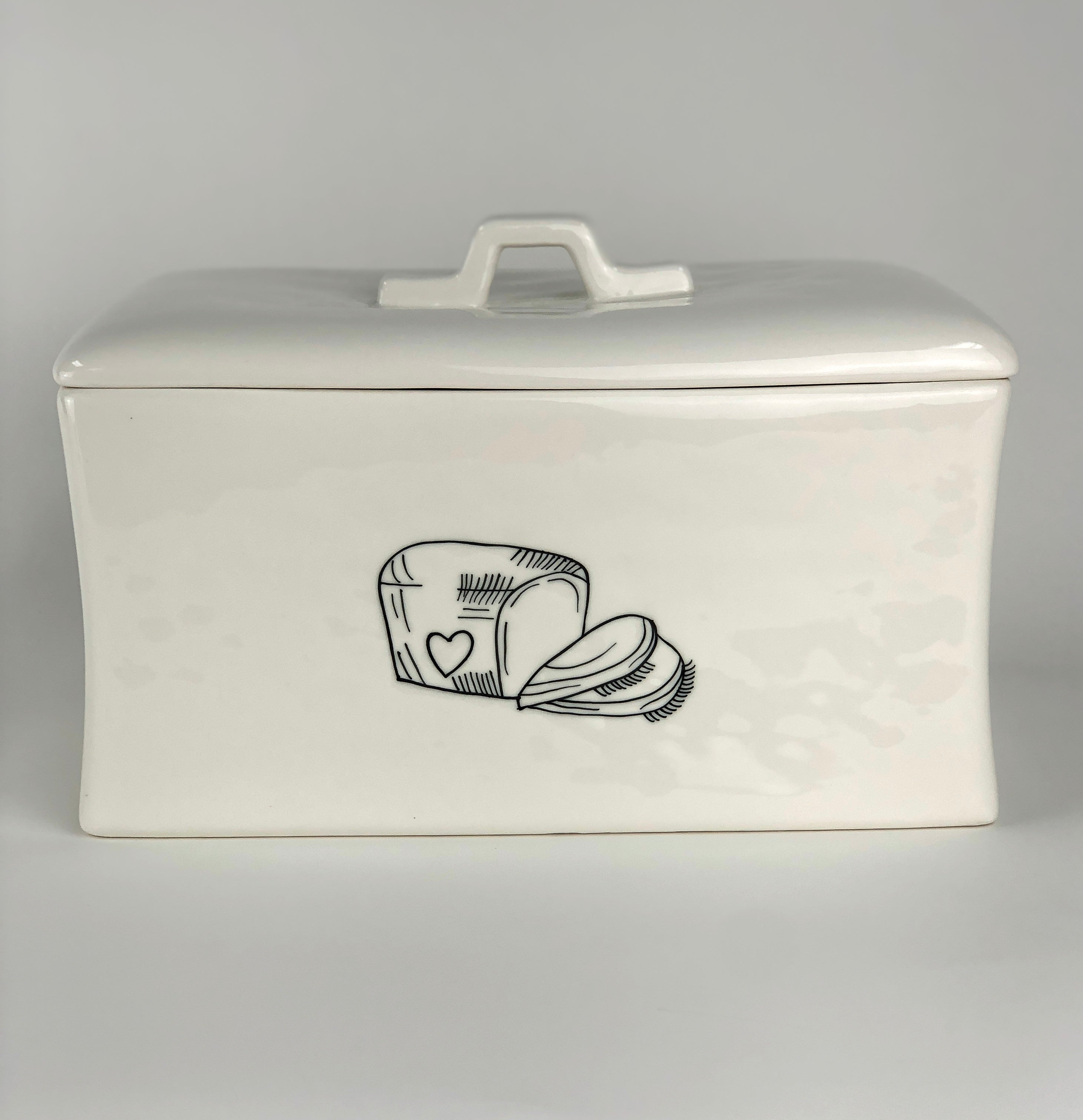 Bread Box Double Sided 2nd Edition Pottery Love Shop