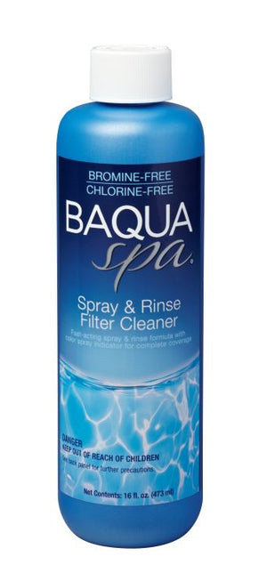 Baqua Spa Spray & Rinse Filter Cleaner
