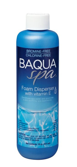 Baqua Spa Foam Disperser with Vitamin E (March 2020 Preorder)