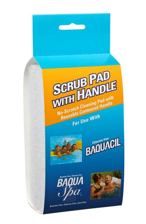 Baquacil/Baqua Spa Scub Pad with Handle