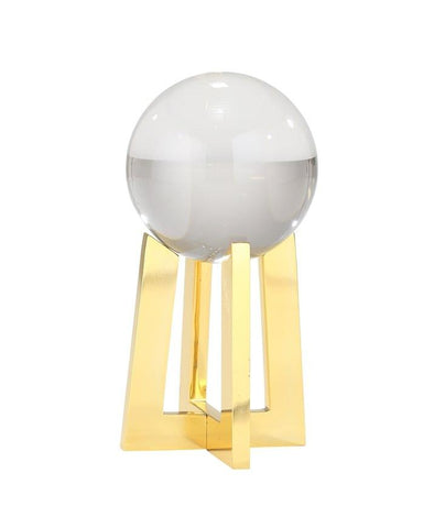 Crystal Orb on Tall Base