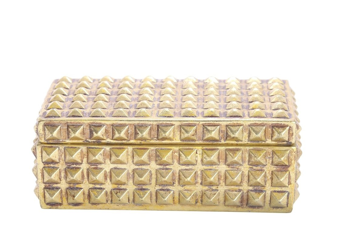 Gold Studded Box