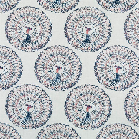 Proud Peacocks Fabric