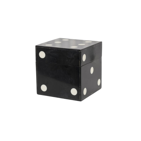 Black Horn Dice Box, LG