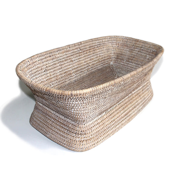 Pedestal Fruit Basket, Rectangular