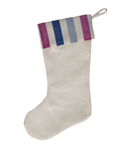 Candy Stripe Stocking