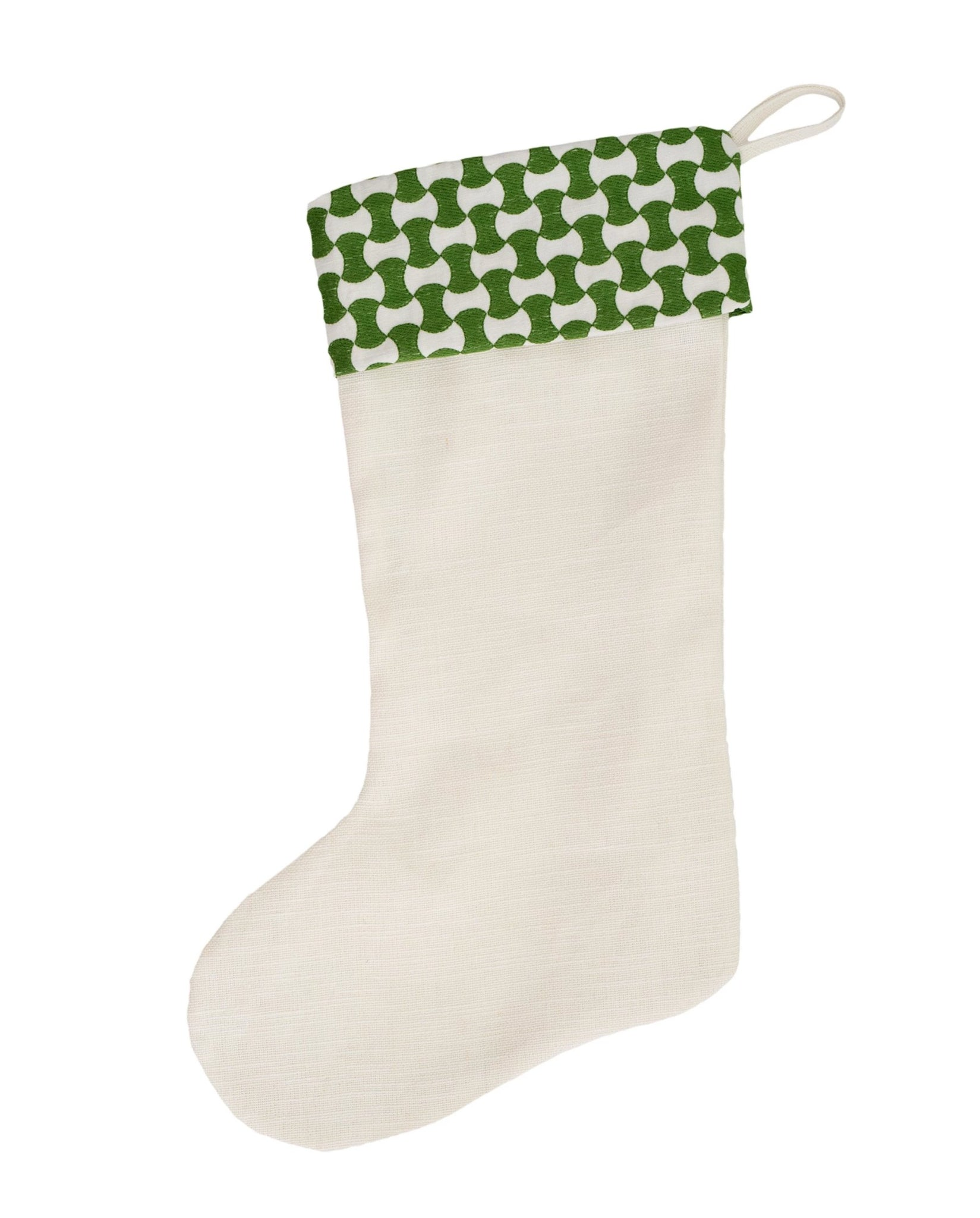 Green Geo Stocking