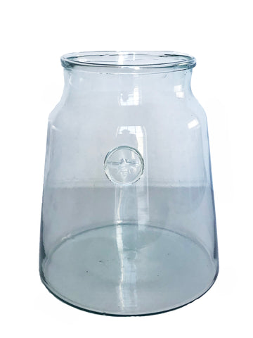 French Mason Jar Vase, Small