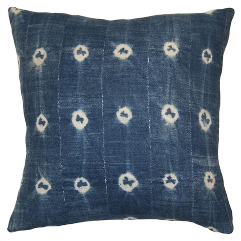 The Indigo Tie-Dye Pillow