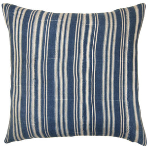 The Indigo Stripe Pillow