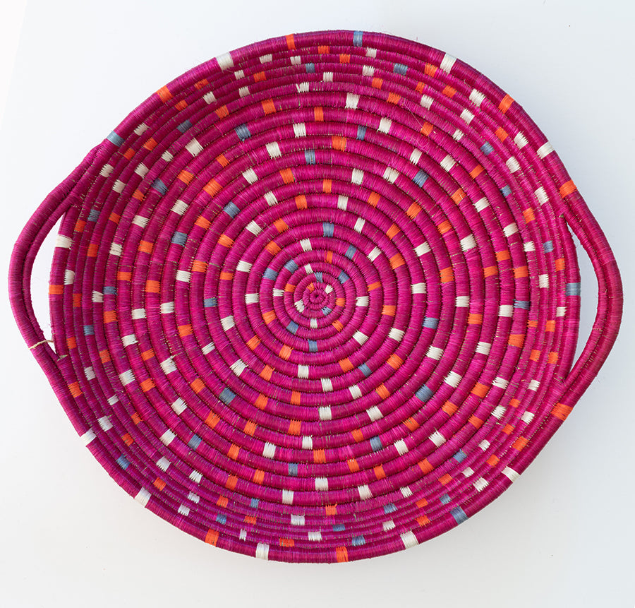 Speckled Vivid Viola Tray