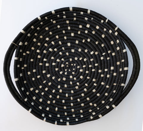Speckled Black Tray