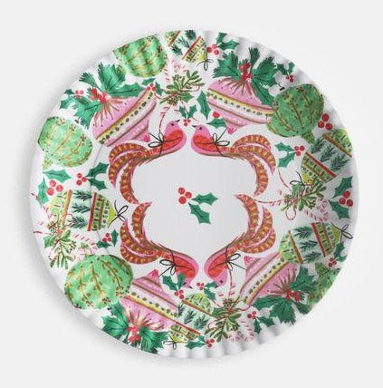The Vienna Embellished Melamine Platter 16""