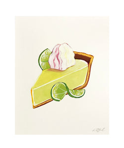 Slice of Key Lime Pie