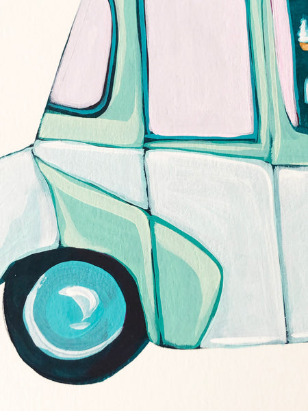 Mint Ice Cream Truck 3