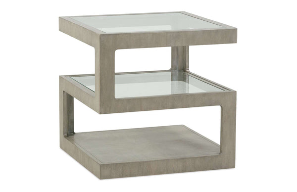 The Jenga End Table