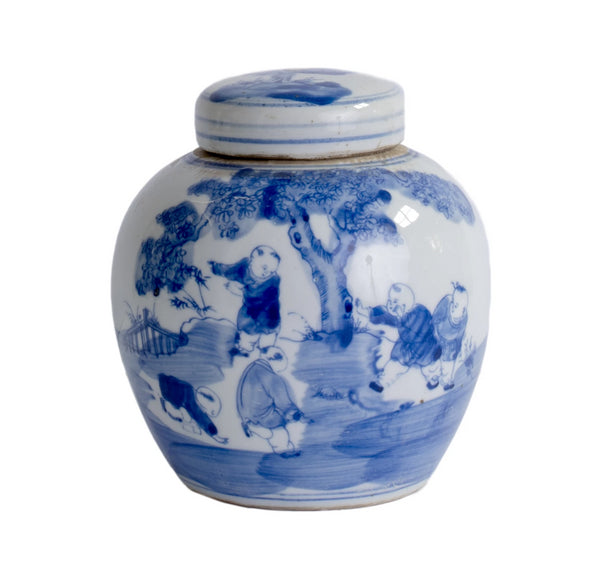 Blue and White Jar, SM