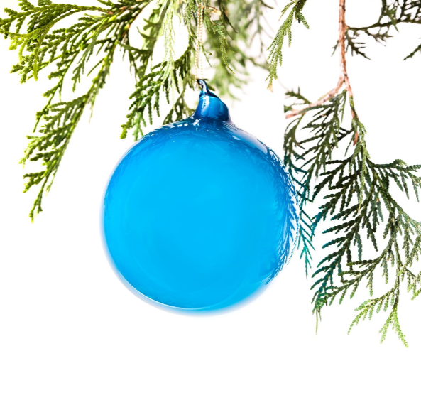 "Blue 4"" Bubble Gum Ornament"
