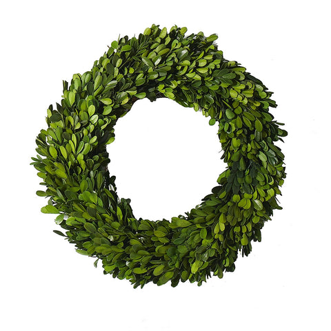 The Honey Boxwood Wreath