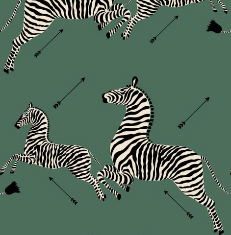 Flying Zebra Wallpaper