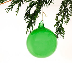 "Green 4"" Bubble Gum Ornament"