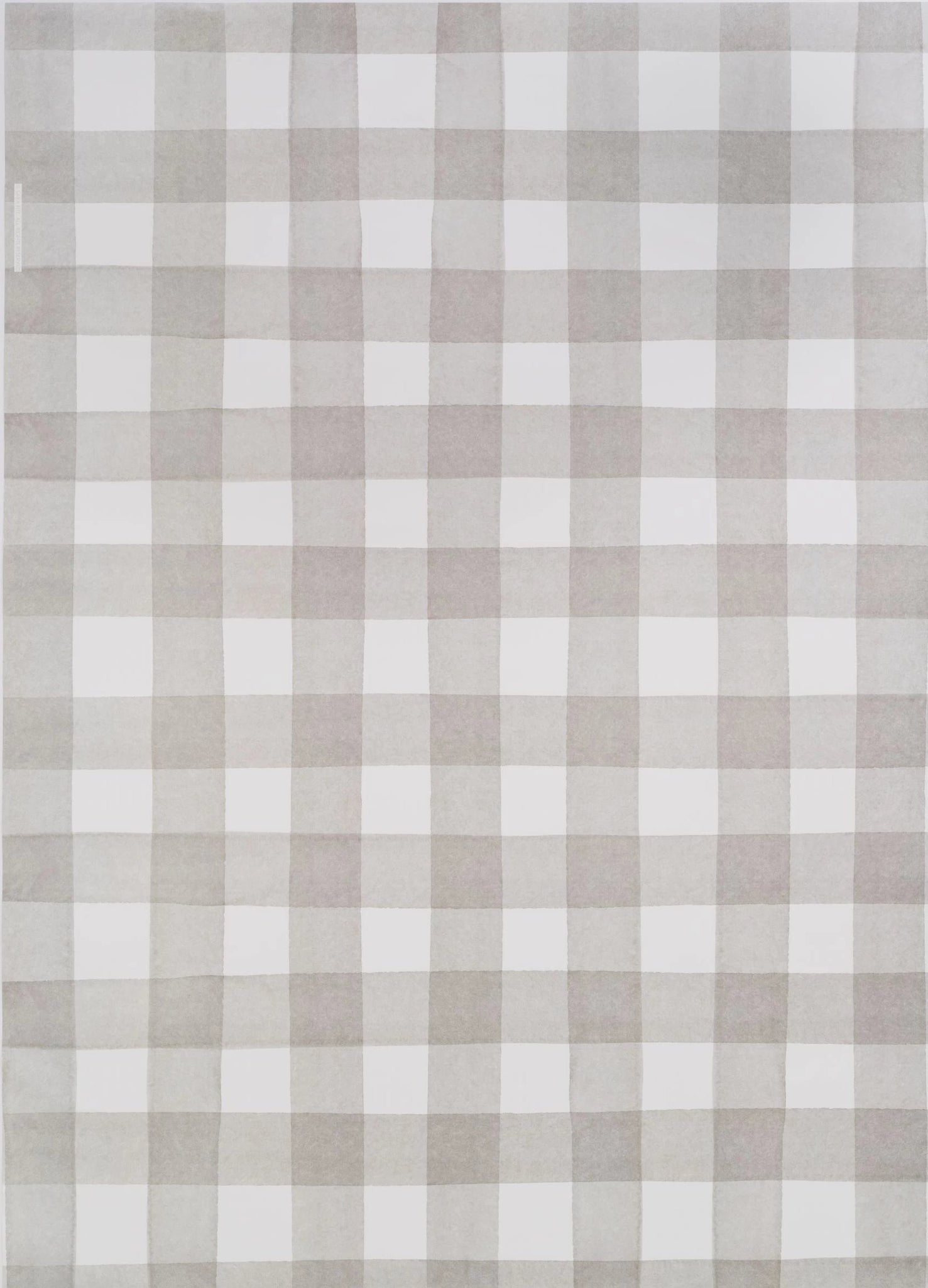Grey Buffalo Check Gift Wrap