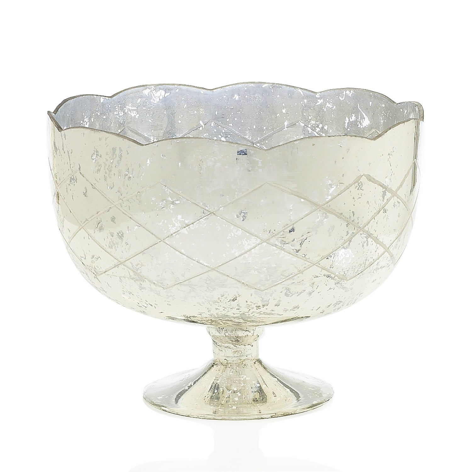 The Scalloped Pedestal Bowl, Large