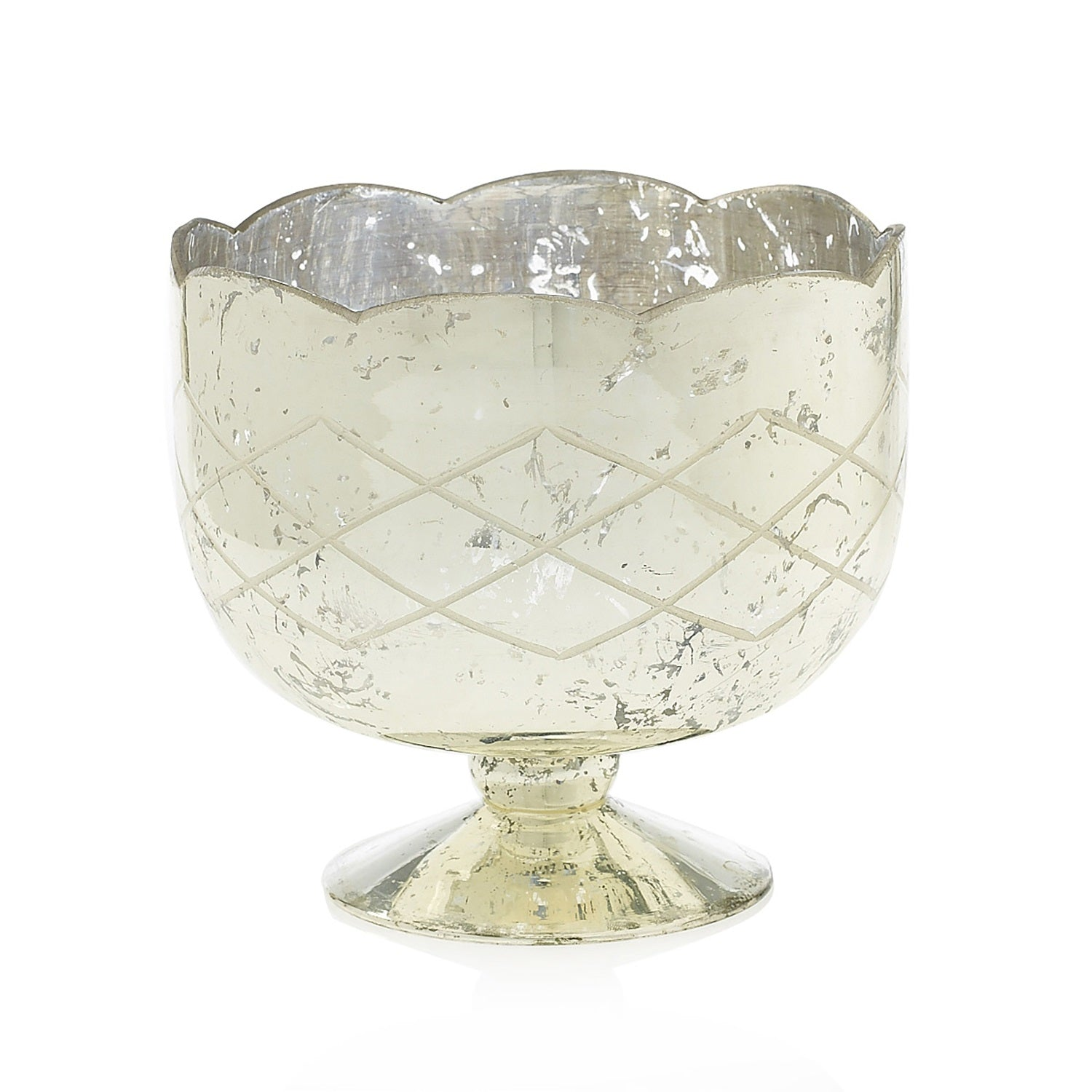 The Scalloped Pedestal Bowl, Small
