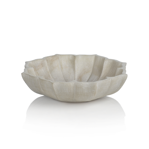 The Petal Marble Bowl