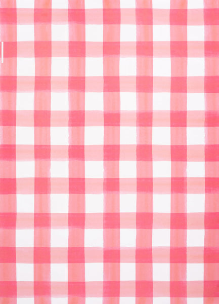 Pink Buffalo Check Gift Wrap