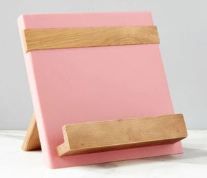 Color Block Cookbook/Tablet Holder - Pink