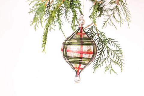The Tartan Drop Ornament