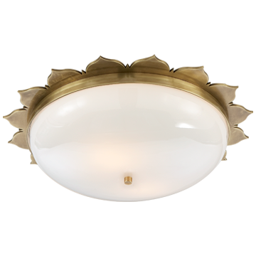 The Salutation Flush Mount