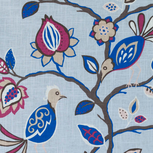 Bluebell Birds Fabric