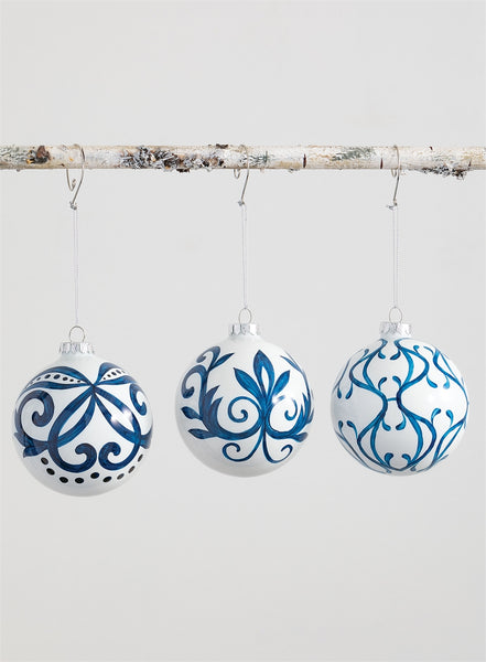 The Chillmark Collection set of 3 ornaments