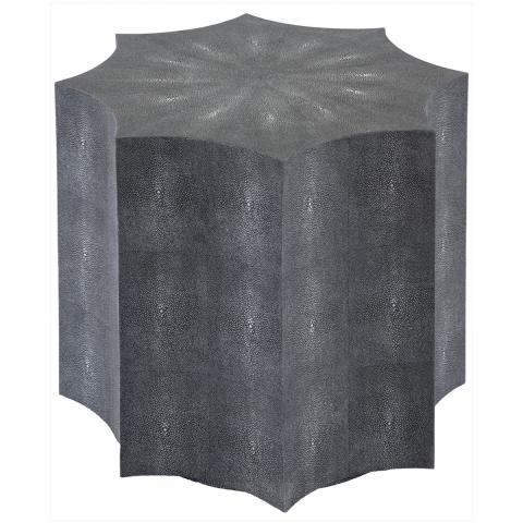 The Sunburst Shagreen End Table