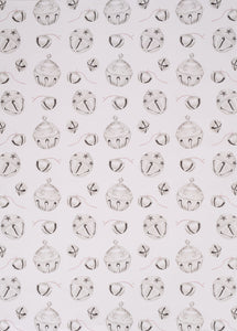 Silver Bells Gift Wrap