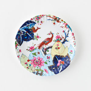 The Tobacco Leaf Melamine Plate Set of 4